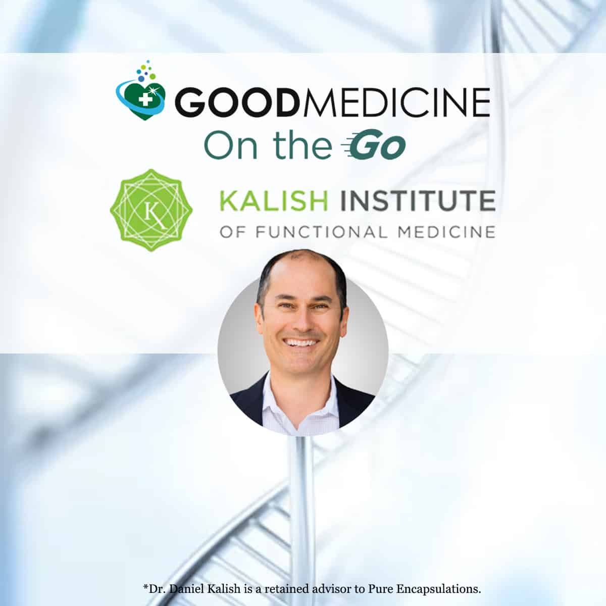 November 18, 2021 Brain health: Optimizing Treatments for Common Complaints by Correlating Genomics and Genova  labs with Dr. Dan Kalish